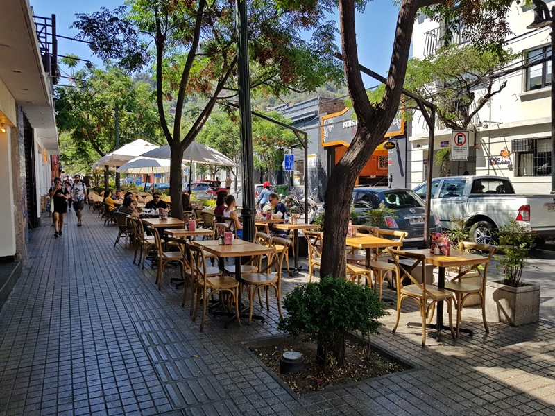 Onde se hospedar em Lastarria e Bellas Artes, Santiago