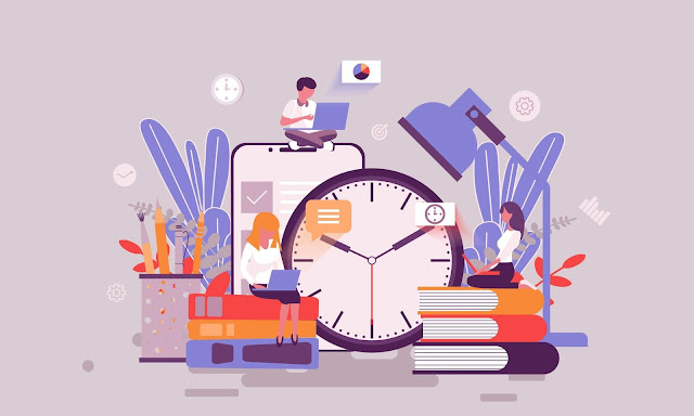 الوقت في الفكر الإداري