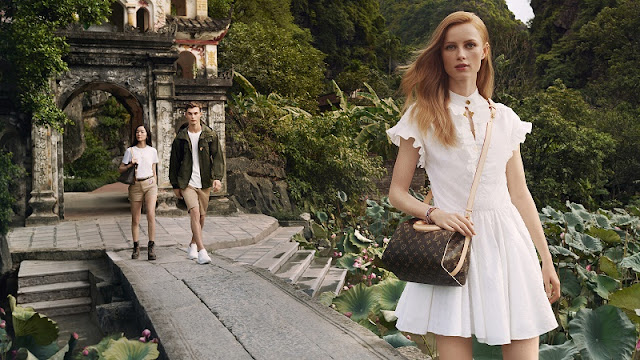 Vietnam's scenery featured in new Louis Vuitton campaign