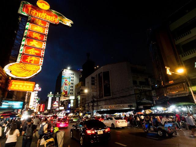 Yaowarat Road Chinatown Bangkok