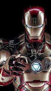 Papel de parede vingadores Homem de ferro