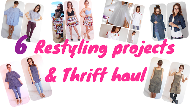6 Restyling projects & Thrift haul