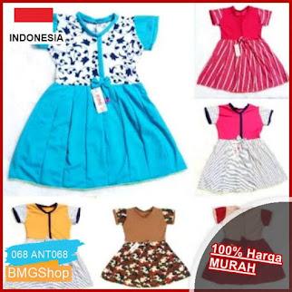 ANT068 Baju Dress Anak Cantik Umur BMGShop