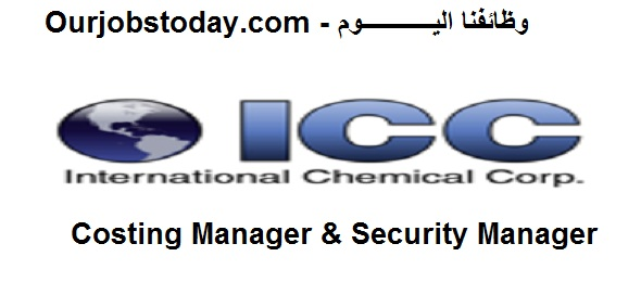 Costing Manager & Security Manager in international Chemical company in Borg Al-Arab
