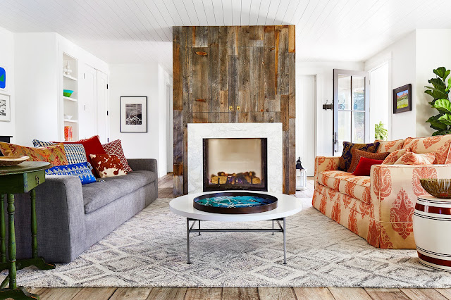 Mill Valley home photographed by Brad Knipstein. Josef M Designs.