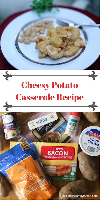 Cheesy Potato Casserole Recipe - An easy, budget-friendly, gluten-free dinner