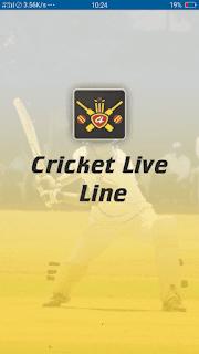 Cricket Live Line - screenshot 1