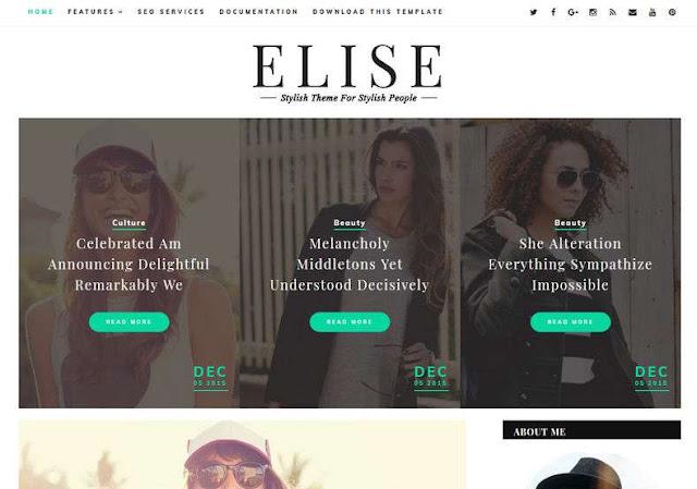 Elise Blogger Theme