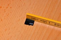 Mikro-SD-Karte...