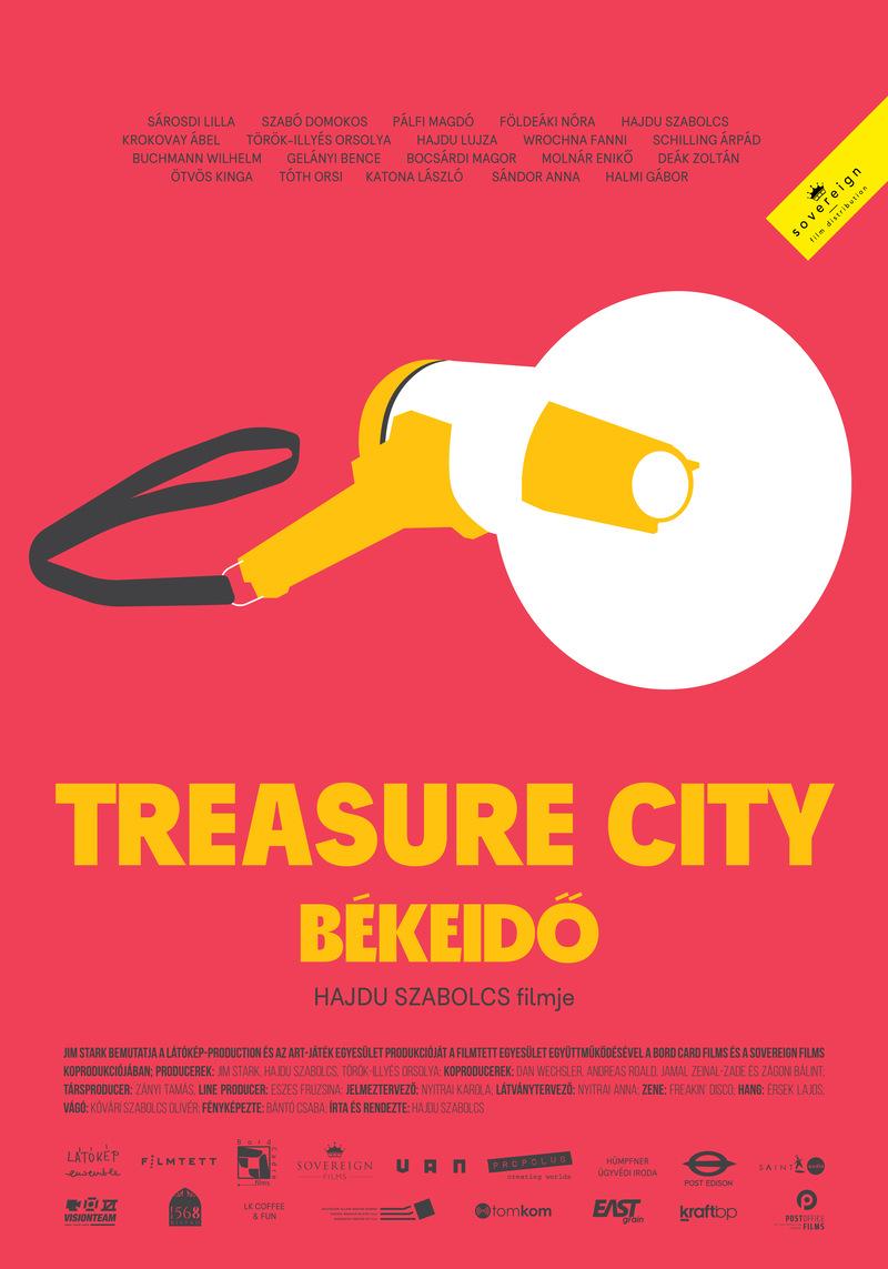 treasure city poster