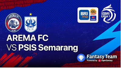 Link Live Streaming Arema FC vs PSIS Semarang Hari Ini di Vidio Indosiar Nonton Siaran Langsung Liga 1 BRI TV Online