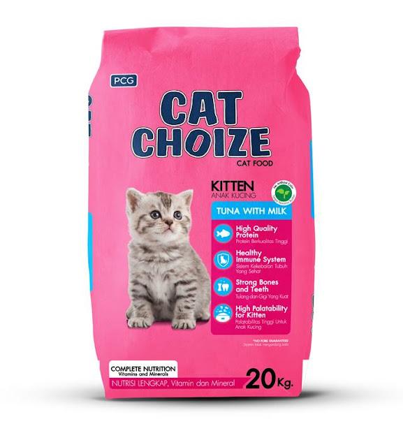 Kekurangan Makanan Kucing Cat Choize