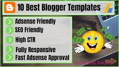 top 10 free responsive blogger templets