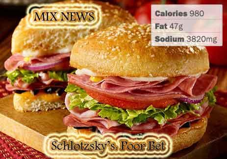 Diet,debris,wors,double grip,sandwiches,Schlotzsky's:Poor Bet,  Diet debris and worst double grip sandwiches