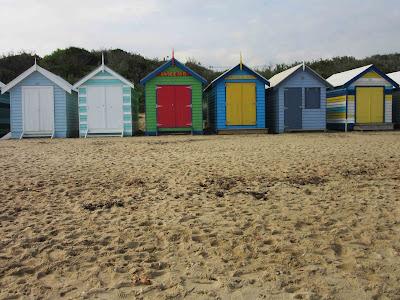 Casetas de baño de la playa Brighton. Melbourne
