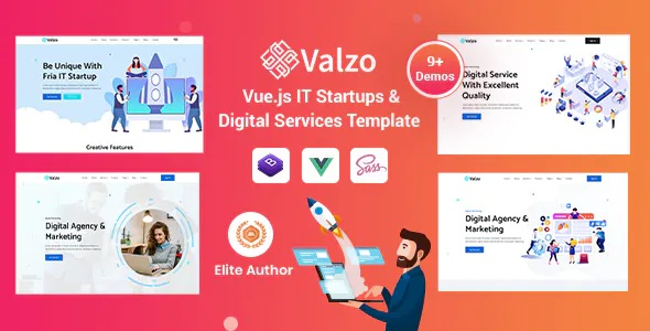 Best IT Startup Template