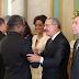 Funcionarios dan en Palacio saludo de Año Nuevo al presidente Danilo Medina