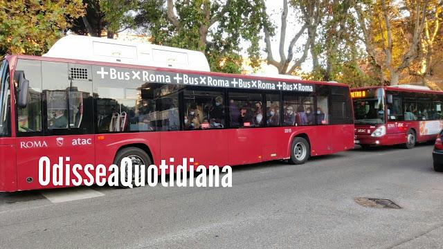 Collatina: passeggero accoltellato sul bus 314 per aver chiesto ad una coppia di indossare la mascherina