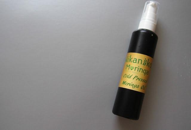 Bottle of Moringa Oil
