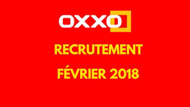 اعلان توظيف بمؤسسة اوكسو - فيفري 2018  OXXO RECRUTE