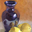 Nithya Swaminathan - Original Paintings: September 30 Paintings in 30 Days - Day 24