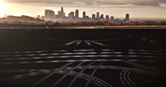 これが未来の交通網!?渋滞を緩和するための地下トンネルシステムのコンセプトがスゴい。