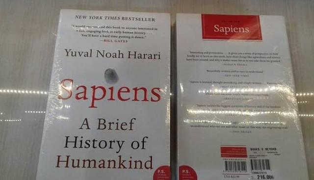 Contoh Teks Nonfiksi Tentang Buku Sapiens: A Brief History of Humankind