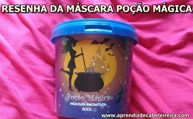 máscara Poção Mágica da Probelle
