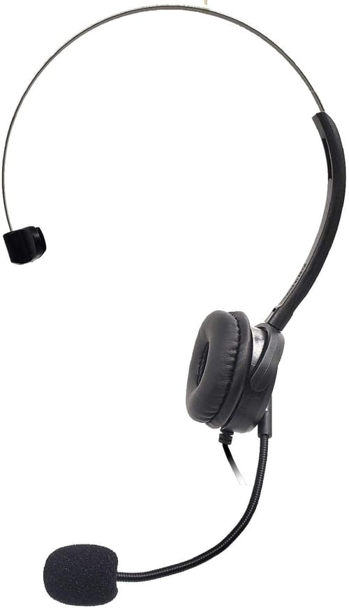 Review ZaxSound Gaming Chatting Single Headset Over-Ear