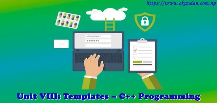 Templates – C++ Programming