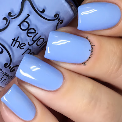 beyond the nail popping periwinkle swatch soft neons
