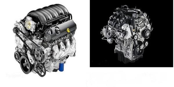 2016 Chevy Silverado Vs. 2016 Ford F-150 Engine