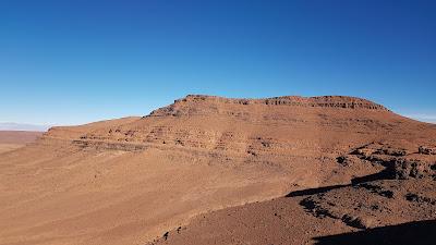 Montagne del sud del Marocco