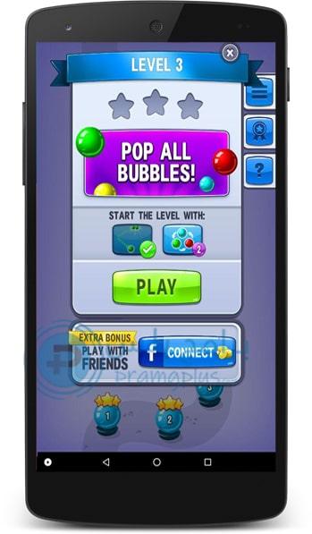 طريقة لعب قاذف الكرات Bubble Shooter