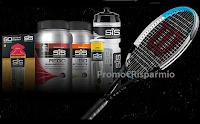 Logo Science In Sport : vinci gratis racchetta da tennis Wilson e kit di prodotti SiS