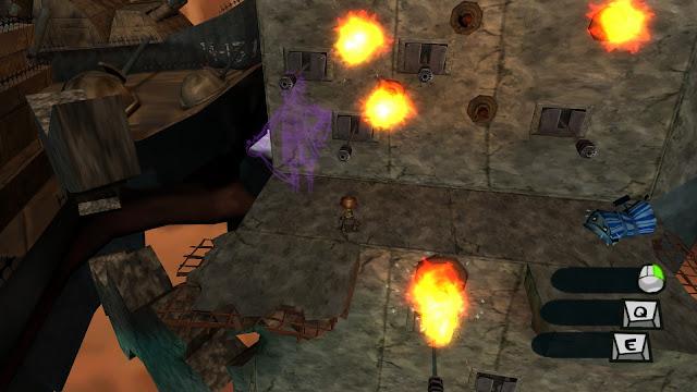 Screenshot from the original Psychonauts