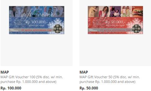 Belanja Hemat dengan Voucher MAP