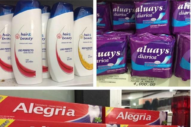 Supermercados del régimen venden productos de marcas piratas
