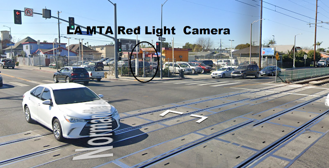 LA MTA Red Light Camera