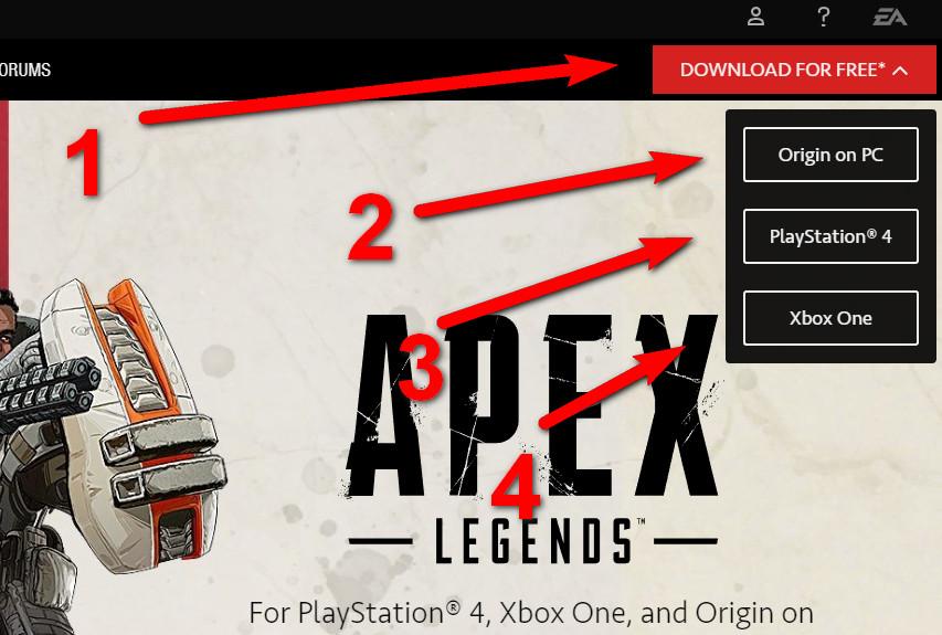 تحميل apex legends