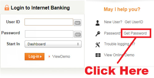 how to generate icici net banking password