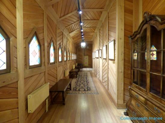 Kolomenskoye interior palacio de madera del zar Alexei Moscú