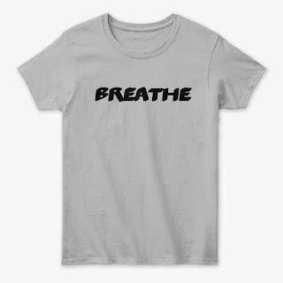 Breathe Women's Classic Tee Shirt Grey