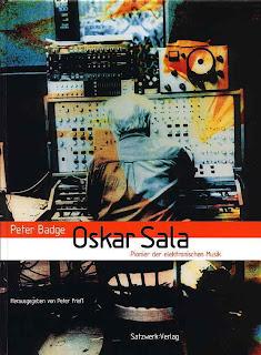 Portada de Oskar Sala. Pionier der elektronischen Musik, del fotógrafo Peter Badge y con prólogo de Florian Schneider