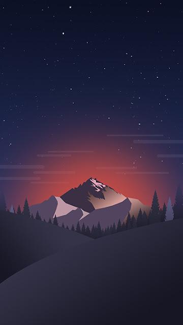 Mountain Stock Wallpaper iPhone 7
