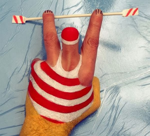 5 Clever Painting Ideas: GoosBall: 31 Cleverly Creative Body Paint Pictures & Ideas