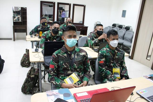 Anggota Penrem 091/ASN Dikirim ke Jakarta Mengikuti Pelatihan Kehumasan dan Jurnalistik