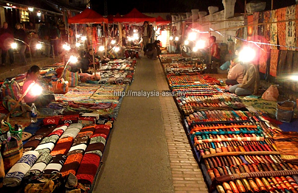 Night Market at Luang Prabang