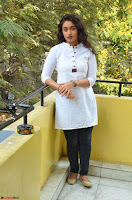 Kiran Chetwani in Denim and White Kurti  Exclusive 037.JPG