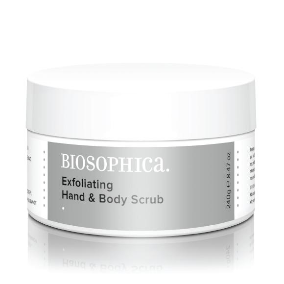 Biosophica Exfoliating Hand & Body Scrub (240GR)